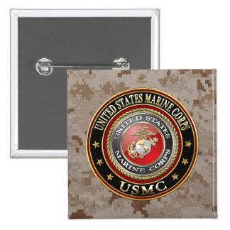 USMC Emblem [Special Edition] [3D] Button