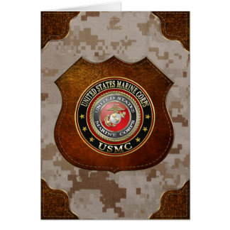 USMC Emblem [Special Edition] [3D] Cards