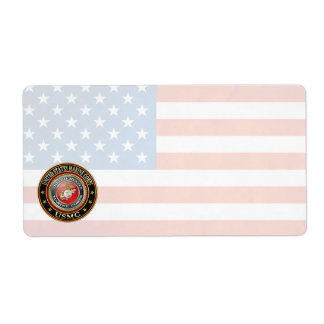 USMC Emblem [Special Edition] [3D] Label