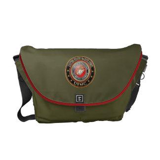 USMC Emblem [Special Edition] [3D] Messenger Bag