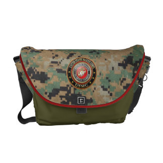 USMC Emblem [Special Edition] [3D] Courier Bag