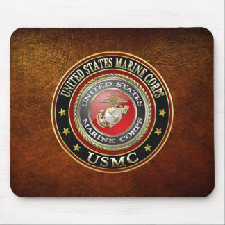 USMC Emblem [Special Edition] [3D] Mouse Pad