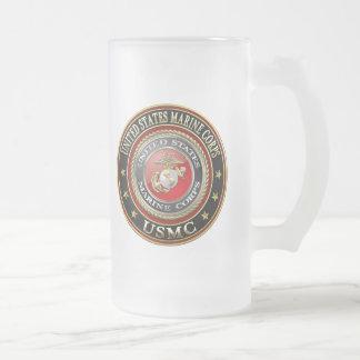 USMC Emblem Special Edition 3D Beer Mugs