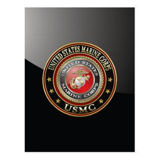 USMC Emblem [Special Edition] [3D] Post Cards