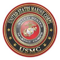 USMC Emblem [Special Edition] [3D] Stickers
