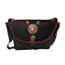 USMC Emblem & Uniform [3D] Courier Bag