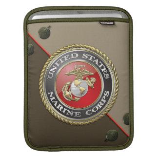 USMC Emblem & Uniform [3D] iPad Sleeve