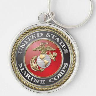 USMC Emblem & Uniform [3D] Keychain