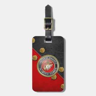 USMC Emblem & Uniform [3D] Tags For Bags