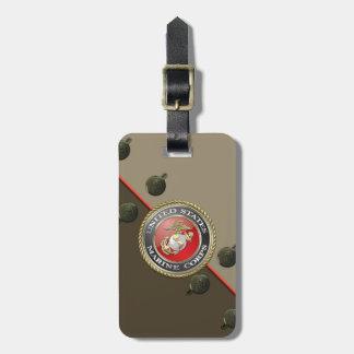 USMC Emblem & Uniform [3D] Tags For Luggage
