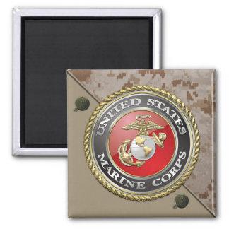 USMC Emblem & Uniform [3D] Magnet