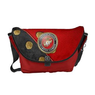 USMC Emblem & Uniform [3D] Courier Bags