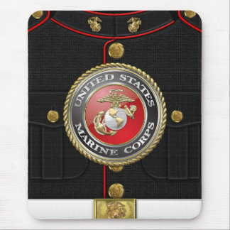 USMC Emblem & Uniform [3D] Mousepads