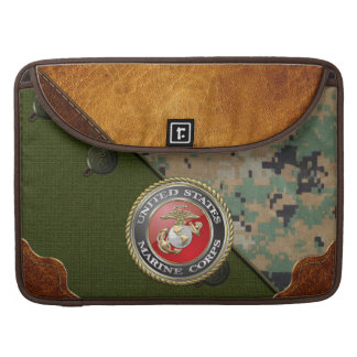 USMC Emblem & Uniform [3D] Sleeve For MacBooks