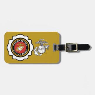 USMC Emblem with the Eagle, Globe and Anchor Bag Tag