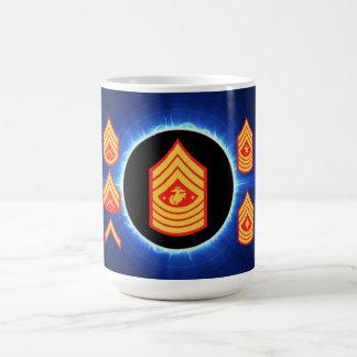 USMC Enlisted Insignia Mug