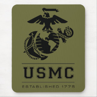 USMC Established 1775 Mouse Pad