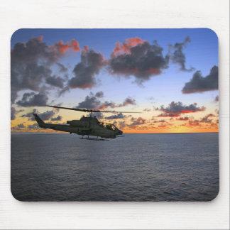 USMC estupendo de la cobra de AH-1W Tapetes De Raton