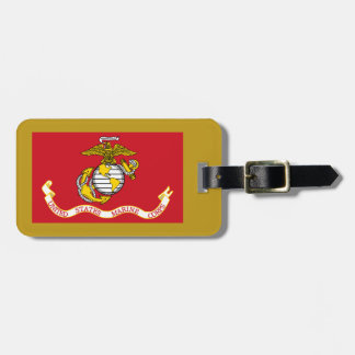 USMC Flag Luggage Tag