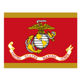 USMC Flag Postcards