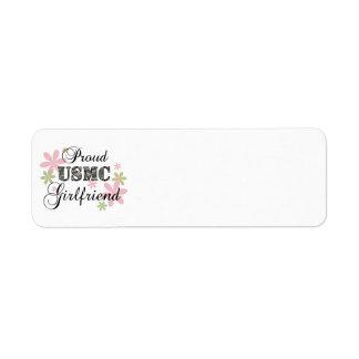 USMC Girlfriend [fl camo] Label