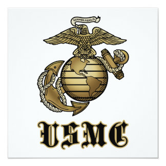 USMC PERSONALIZED INVITATIONS