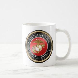USMC lassic White Mug