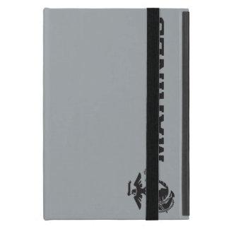USMC Logo - Black Cover For iPad Mini