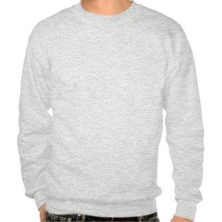 USMC Logo Stacked - Black Pullover Sweatshirts