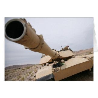 USMC M1 Abrams Card
