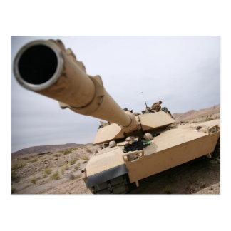USMC M1 Abrams Postales