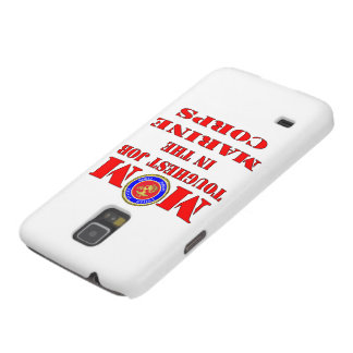 USMC Marine Mom Toughest Job In The Marine Corps Galaxy S5 Cover