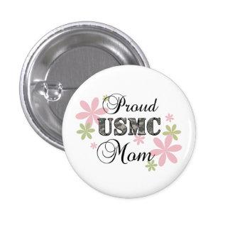 USMC Mom fl camo Pinback Buttons