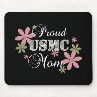 USMC Mom [fl camo] Mouse Pad