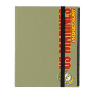 USMC Proud Aunt iPad Cover