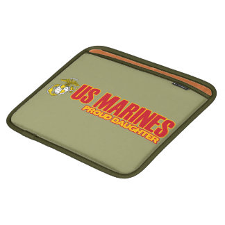 USMC Proud Daughter Sleeves For iPads