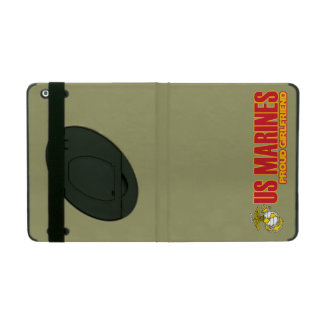 USMC Proud Girlfriend iPad Cover