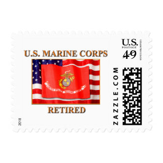 USMC Retired 1st Class Stamps