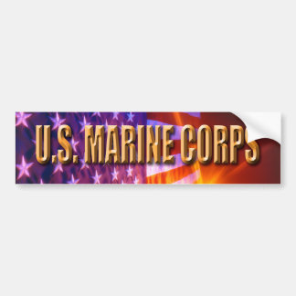 USMC Retired Bumper Sticker