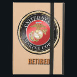 "USMC Retired iPad Case<br><div class=""desc"">Once a Marine always a Marine. Designed by a veteran.</div>"
