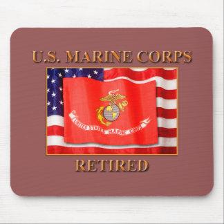 USMC Retired Mousepad