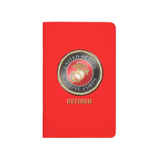 USMC Retired Pocket Journal