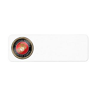 USMC Return Address Label