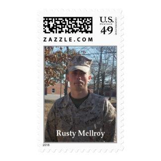 USMC Rusty Mellroy U.S. Postage