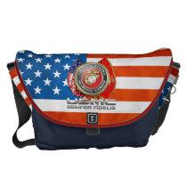 USMC Semper Fi [3D] Messenger Bag