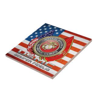 USMC Semper Fi [3D] Tile