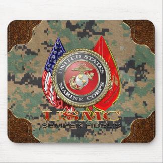 USMC Semper Fi [edición especial] [3D] Alfombrillas De Ratones