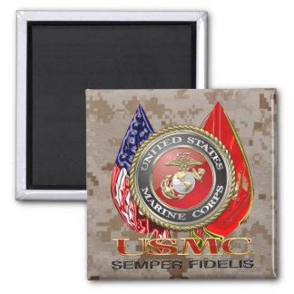 USMC Semper Fi [edición especial] [3D] Imanes De Nevera