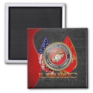 USMC Semper Fi [edición especial] [3D] Imán De Nevera