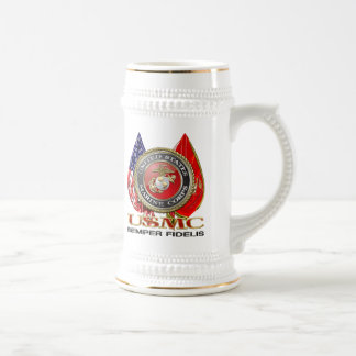 USMC Semper Fi [edición especial] [3D] Jarra De Cerveza